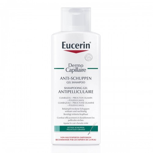 EUCERIN DermoCapillaire Anti-Schu Gel Shamp 250 ml