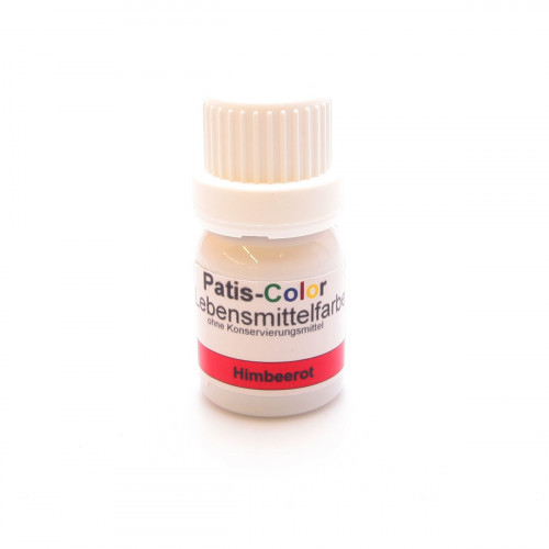 PATIS-COLOR Lebensmittelfarbe himbeerrot 10 ml