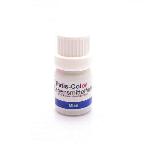 PATIS-COLOR Lebensmittelfarbe blau 10 ml