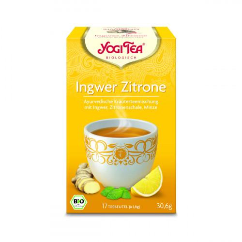 YOGI TEA Ingwer Zitrone Tee 17 Btl 1.8 g