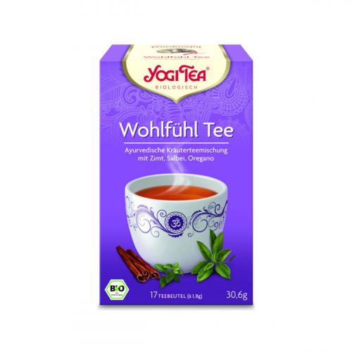 YOGI TEA Wohlfühl Tee 17 Btl 1.8 g
