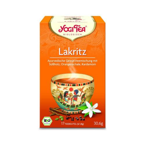 YOGI TEA Lakritz Egyptian Spice 17 Btl 1.8 g
