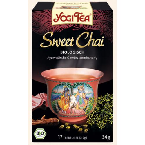 YOGI TEA Sweet Chai 17 Btl 2 g