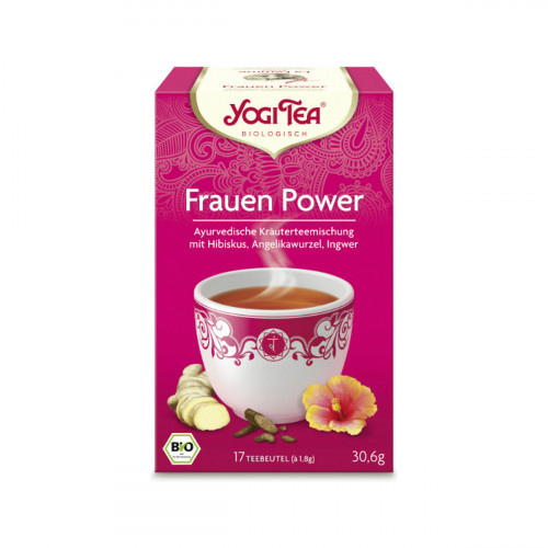YOGI TEA Frauen Power 17 Btl 1.8 g