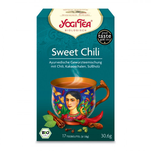 YOGI TEA Sweet Chili Mexican Spice 17 Btl 1.8 g