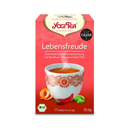 YOGI TEA Lebensfreude Tee 17 Btl 1.8 g