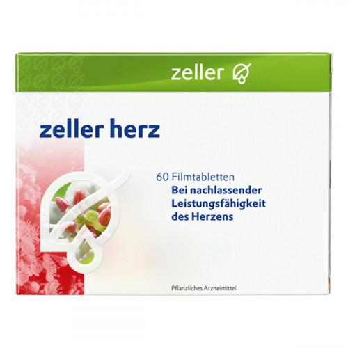 ZELLER Herz Filmtabl 60 Stk