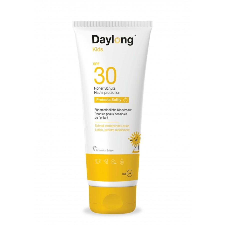 Hier sehen Sie den Artikel DAYLONG Kids SPF30 Tb 200 ml aus der Kategorie Sonnenschutz. Dieser Artikel ist erhältlich bei unseredrogerie.ch