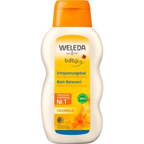 WELEDA BABY CALENDULA Entspannungsbad Fl 200 ml