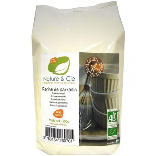 NATURE&CIE Buchweizenmehl glutenfrei 500 g