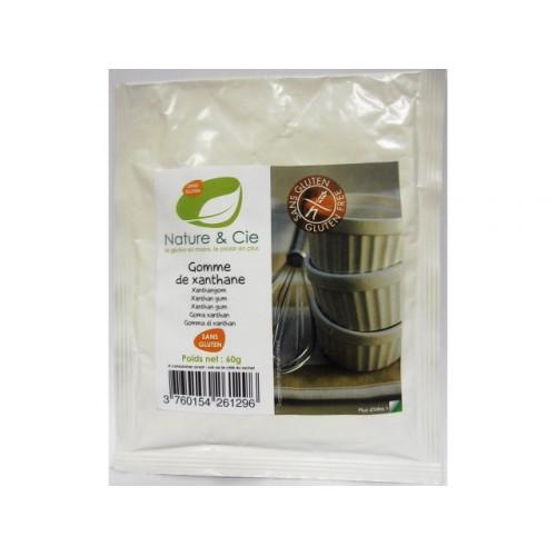 NATURE&CIE Xanthan glutenfrei 60 g