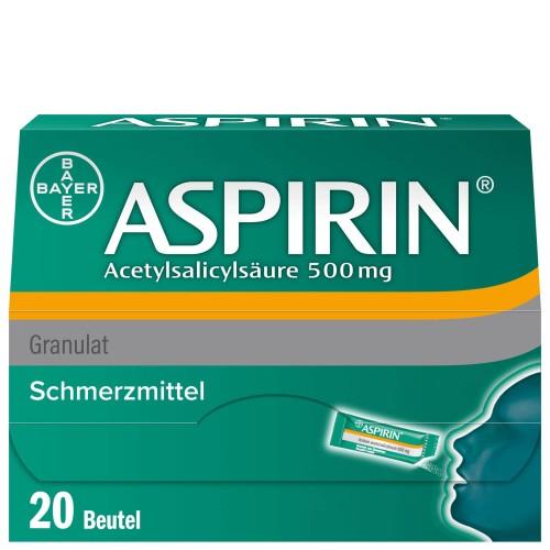 ASPIRIN Gran 500 mg Btl 20 Stk