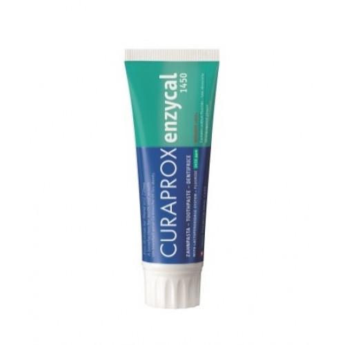 CURAPROX Enzycal 1450 Zahnpasta D/F/E 75 ml