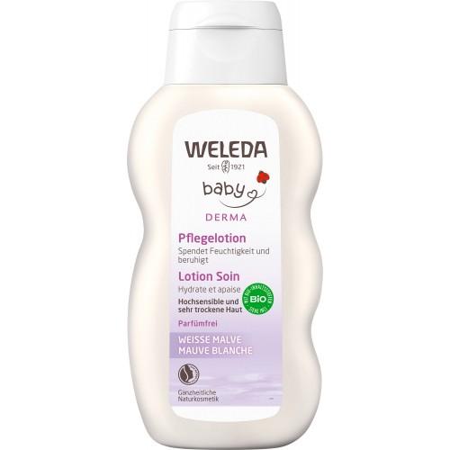 WELEDA WEISSE MALVE Pflegelotion Fl 200 ml