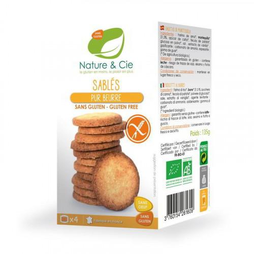 NATURE&CIE Butterplätzchen glutenfrei 135 g