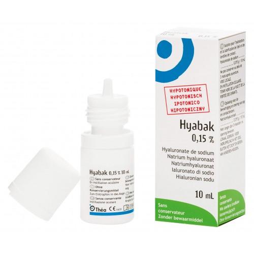 HYABAK Augentropfen neue Formel 10 ml