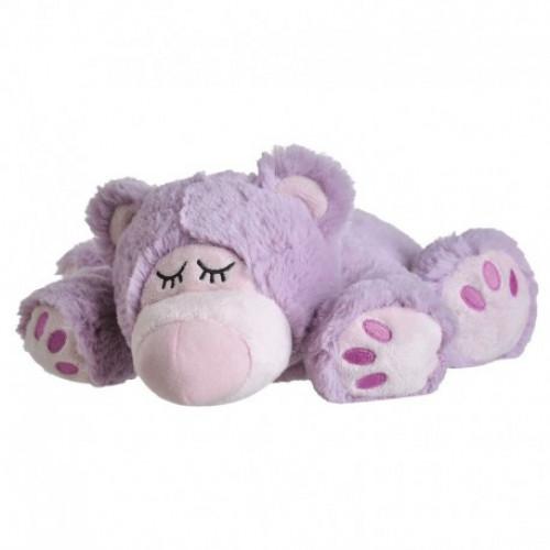BEDDY BEAR Wärme Stofftier Sleepy Bear lila
