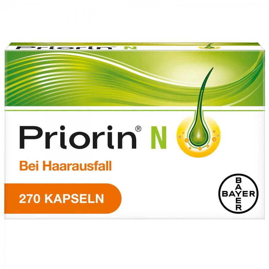 Hier sehen Sie den Artikel PRIORIN N Kaps 270 Stk aus der Kategorie Medikamente der Liste D. Dieser Artikel ist erhältlich bei unseredrogerie.ch