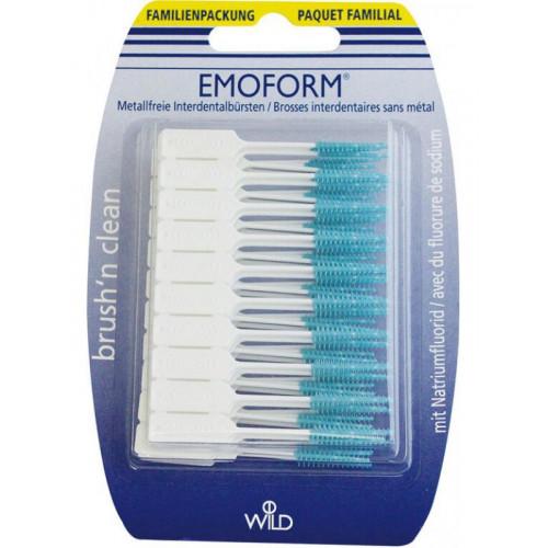 EMOFORM Brush'n Clean Familienpackung 80 Stk