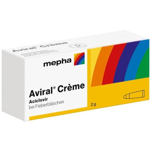 AVIRAL Creme Tb 2 g