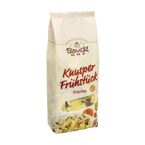 BAUCKHOF Knusper Frühstück Frücht glutenf 325 g