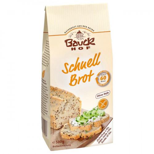 BAUCKHOF Brotbackmisch Schnell glutenf 500 g
