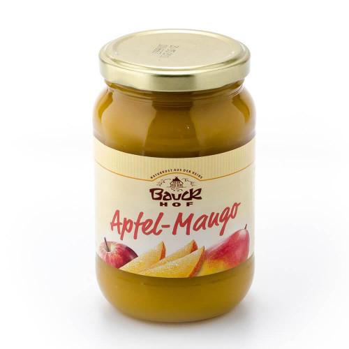BAUCKHOF Apfelmark-Mango ungesüsst Glas 360 g