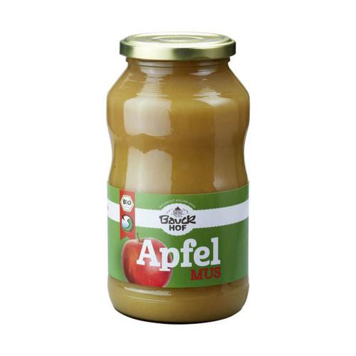BAUCKHOF Apfelmus mit Apfeldicksaft Glas 700 g