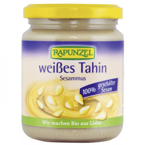RAPUNZEL Tahin weiss ohne Salz Glas 250 g