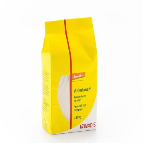 VANADIS Mehl Reis Vollkorn 500 g
