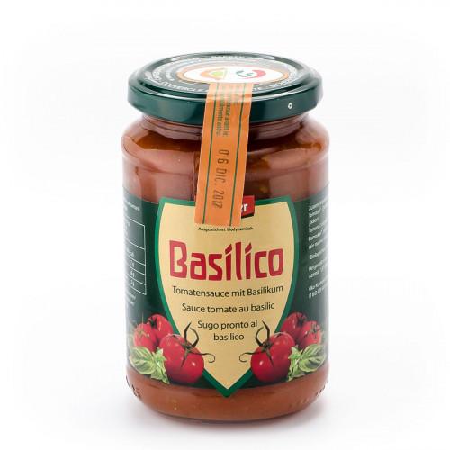 VANADIS Sauce Tomaten Basilico Glas 340 g