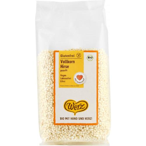 WERZ Vollkorn Hirse gepufft glutenfrei 125 g