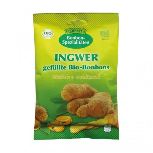 LIEBHART Bio Bonbons Ingwer Btl 100 g