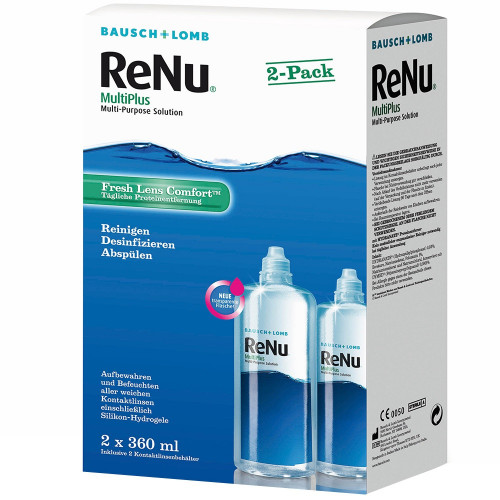 BAUSCH LOMB Renu Multiplus Twin Box 2 x 360 ml