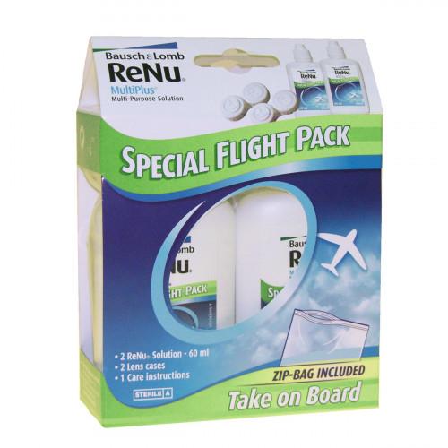 BAUSCH LOMB Renu Multiplus Flight Pack 2 x 60 ml