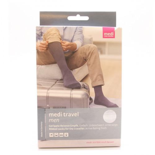 MEDIVEN Travel men M schwarz 1 Paar