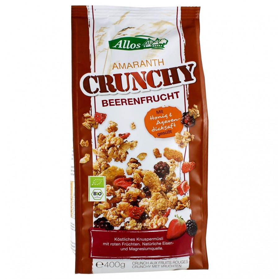 Hier sehen Sie den Artikel ALLOS Amaranth Crunchy Beerenfrucht 400 g aus der Kategorie Flocken/Muesli. Dieser Artikel ist erhältlich bei apothekedrogerie.ch