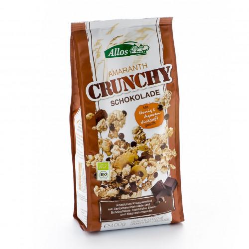 ALLOS Amaranth Crunchy Schokolade 400 g