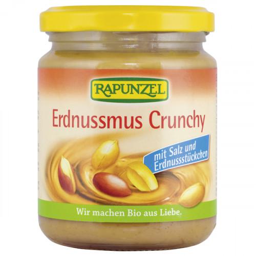 RAPUNZEL Erdnussmus Crunchy mit Salz 250 g