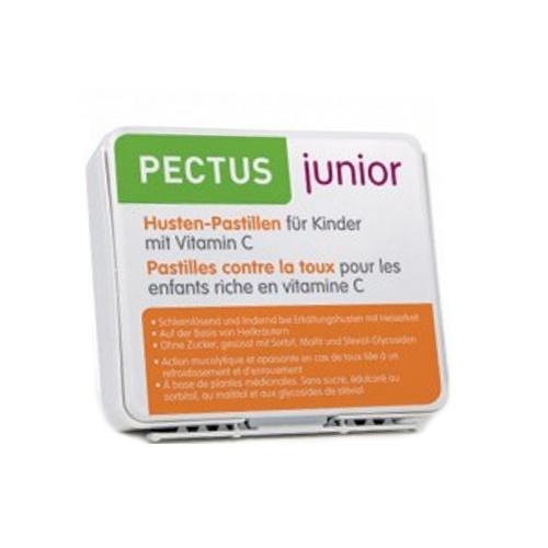 PECTUS Junior Hustenpastillen Kinder Vit C 24 Stk