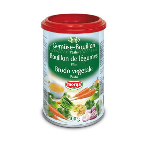 MORGA Gemüse Bouillon Paste Bio Ds 400 g