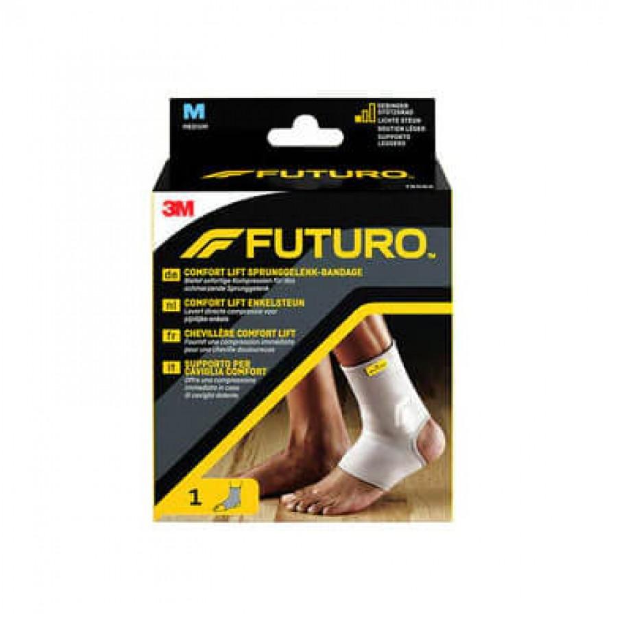 Hier sehen Sie den Artikel 3M FUTURO Bandage Comf Lift Sprunggelenk M aus der Kategorie Knöchelbandagen. Dieser Artikel ist erhältlich bei apothekedrogerie.ch