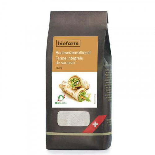 BIOFARM Buchweizenvollmehl CH Knospe 500 g