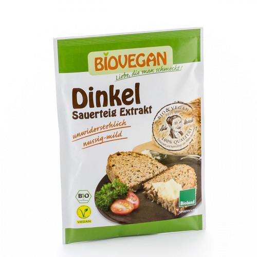 BIOVEGAN Dinkel Sauerteig Extrakt Btl 30 g