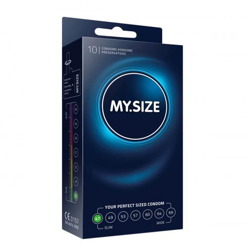 MY SIZE Kondom 47mm 10 Stk
