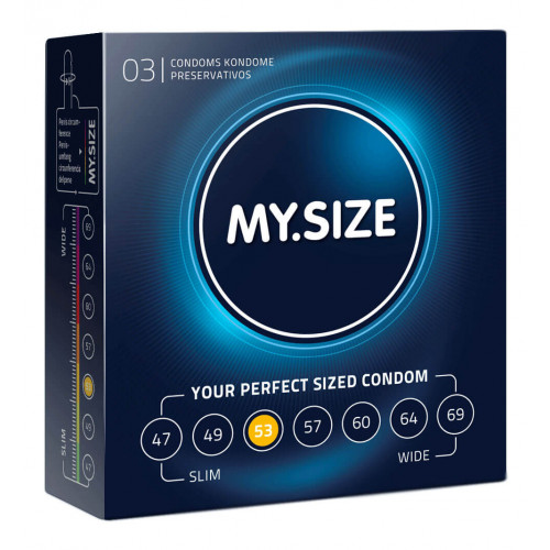 MY SIZE Kondom 53mm 3 Stk