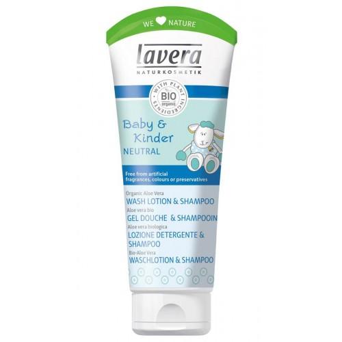 LAVERA Waschlotion & Shampoo Baby und Kind Neutral 200 ml