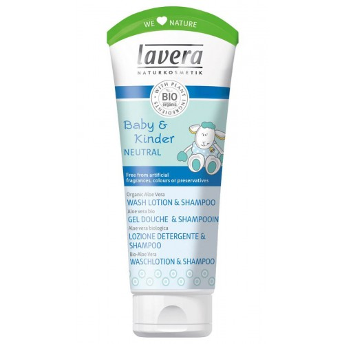 LAVERA Waschlotion & Shampoo b&k Neutral 200 ml