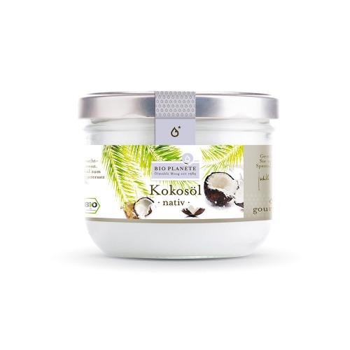 BIO PLANETE Kokosöl nativ Glas 400 ml