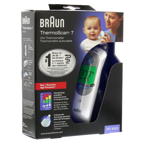 BRAUN ThermoScan Ohrthermometer 7 IRT 6520